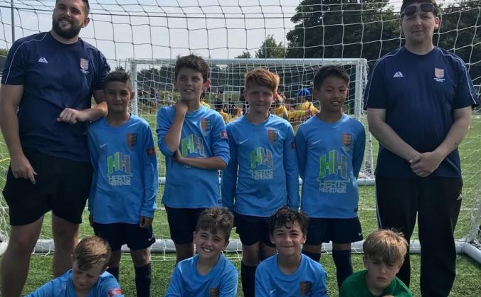 Dover Colts under 10s kit and equipment fund