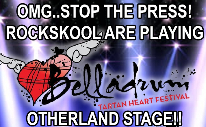 Help RocksKool get to Belladrum 2018