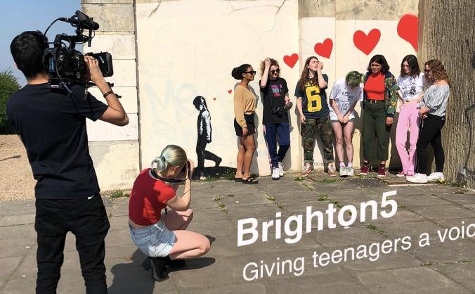 Brighton5 - giving teenagers a voice