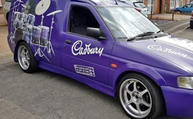 The Cadbury camper project