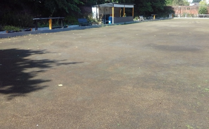 Resurface a 150 year old Crown Green