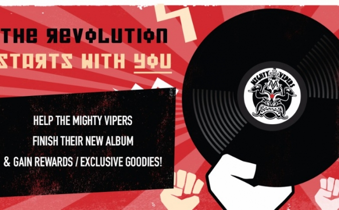 The Mighty Vipers - Debut Album
