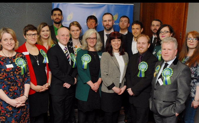 Green Party MLAs for the Northern Ireland Assembly