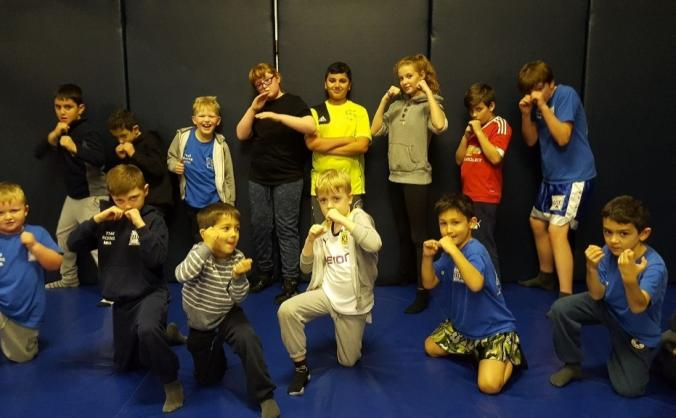 Free martial arts and circuits for all children!