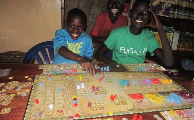 Uganda Boardgame Boot Camp