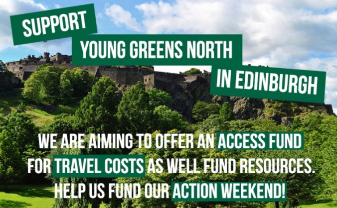 Young Greens North Action Weekend in Edinburgh