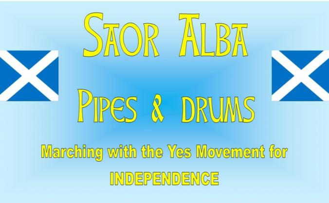 Saor Alba Pipes & Drums. Indy Pipe Band
