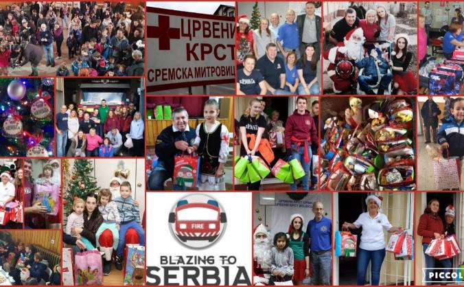 Christmas Gifts for children living in Serbia