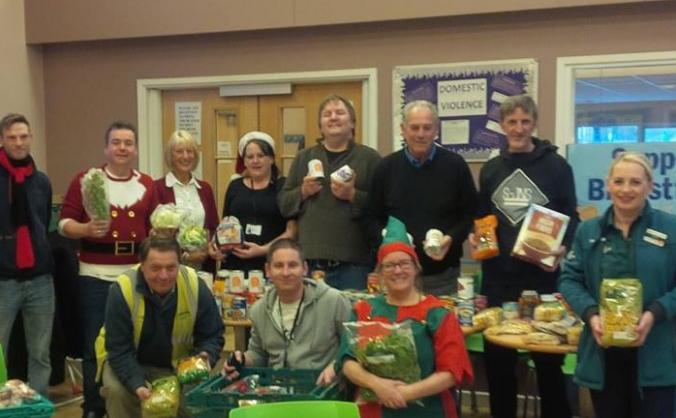 Mexborough Foodbank - Meeting Increased Demand
