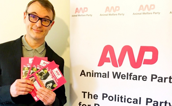 Help Animal Welfare Party stand in Scotland