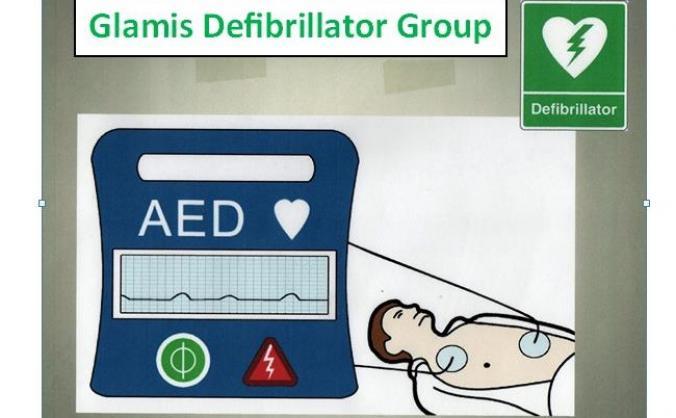 Glamis Village Defibrillator Project