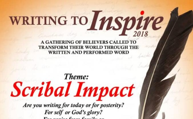 Sponsor a writer to WRITING TO INSPIRE 2018