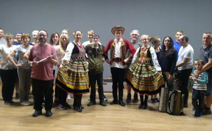 'Melting Pot Collective' takes Scotland to Poland