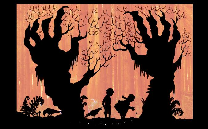 Hansel & Gretel, A Shadow Puppetry Play
