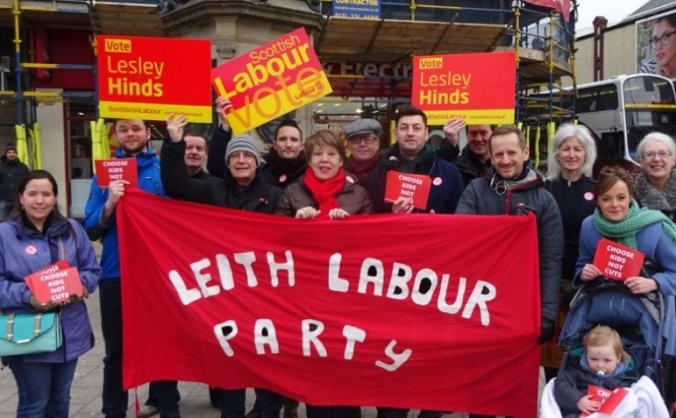 Lesley Hinds for Edinburgh Northern and Leith
