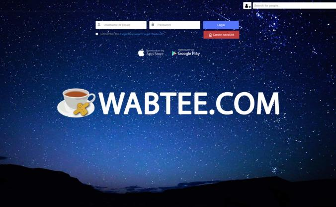 Wabtee.com Social Network With No Targeted Adverts