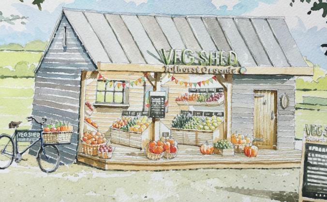 The VegShed @ Tolhurst Organic