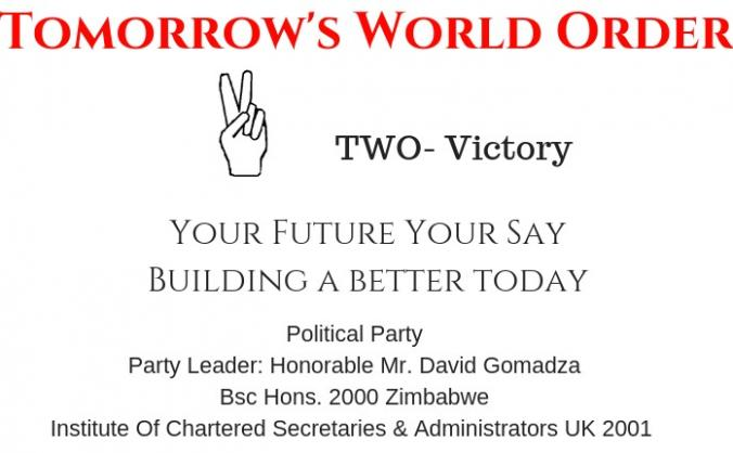Fund Us. Fund Our Party: Tomorrow's World Order