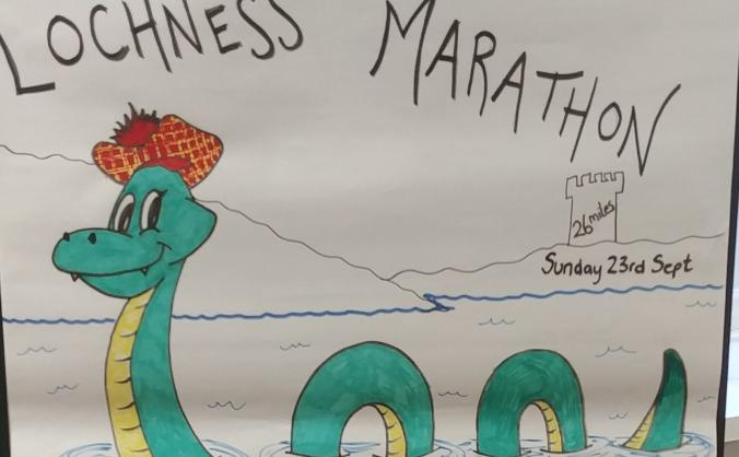 Run the Loch Ness Marathon