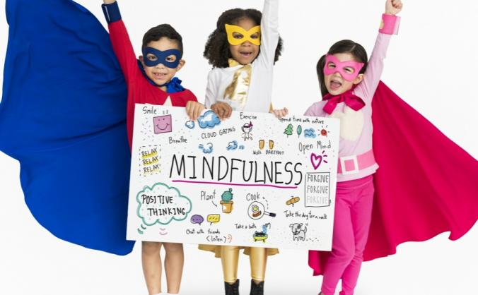A fun & innovative Mindfulness Book aimed at 5-8yr