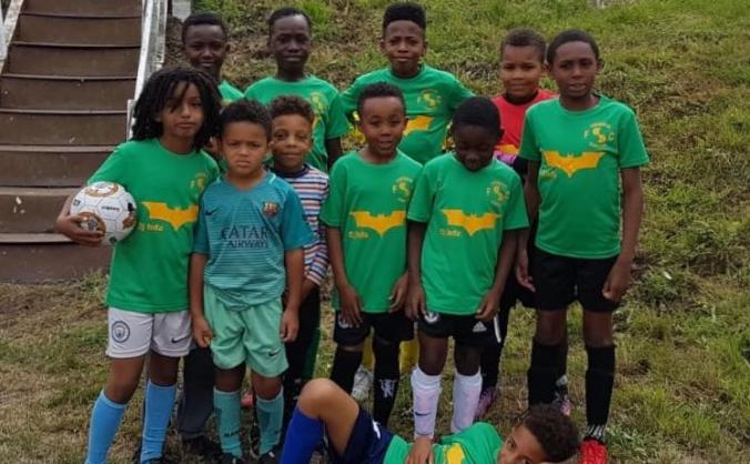 Caribbean Juniors Football team