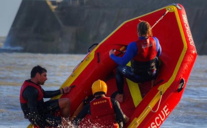 Representing GB in Surf Lifesaving Championships