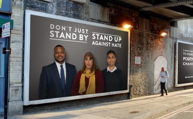 #No2H8 - Upstanders not Bystanders