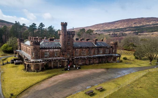 Save Kinloch Castle on the Isle of Rum