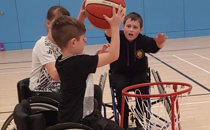 Harrogate hammerhead sharks wheelchair basketball