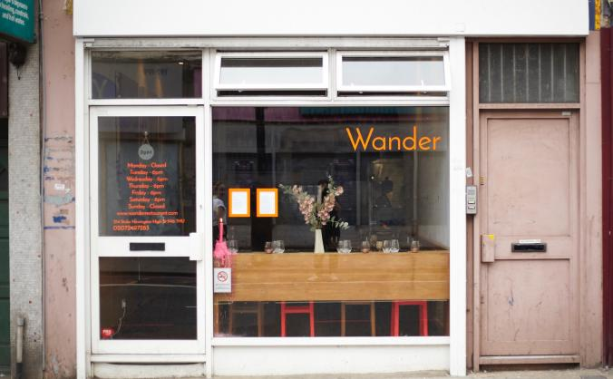 Private Dining Room at Wander
