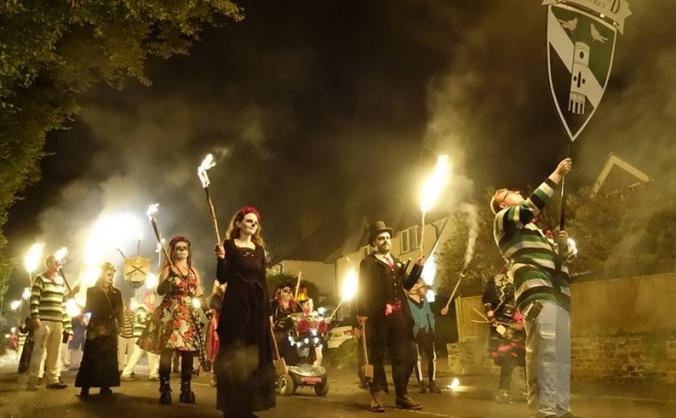 Re-igniting Heathfield & District Bonfire Society