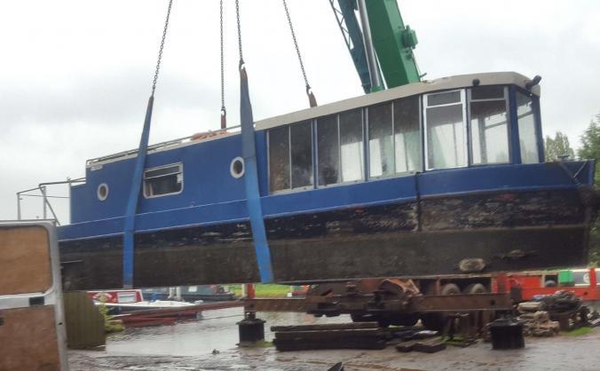 Peggotty Tom IV Narrowboat #keepherafloat