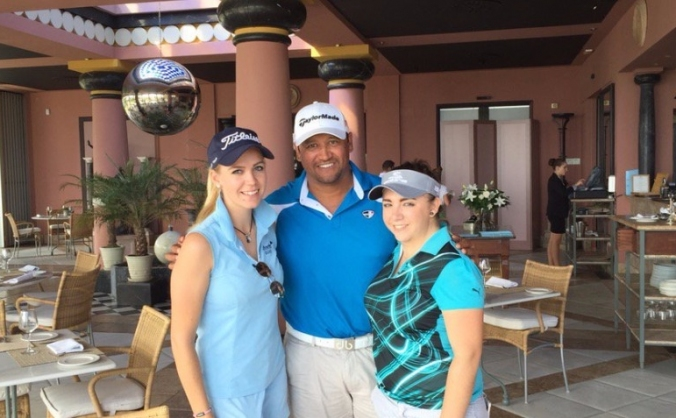 US Open Champion Michael Campbell Academy Training