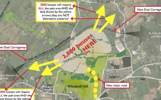 Save Churchill & Langford Villages
