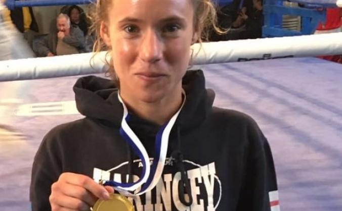 Support Amy Andrew to achieve Boxing Dream