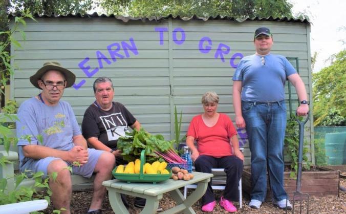 Eaton Barn Community Garden