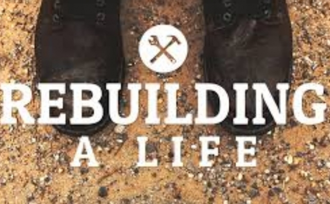 Rebuilding a life of a victim of fire