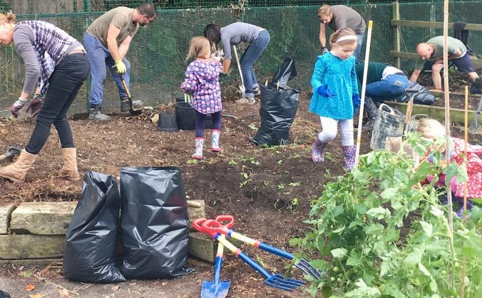 Mill Mead Primary School Growing Garden Project
