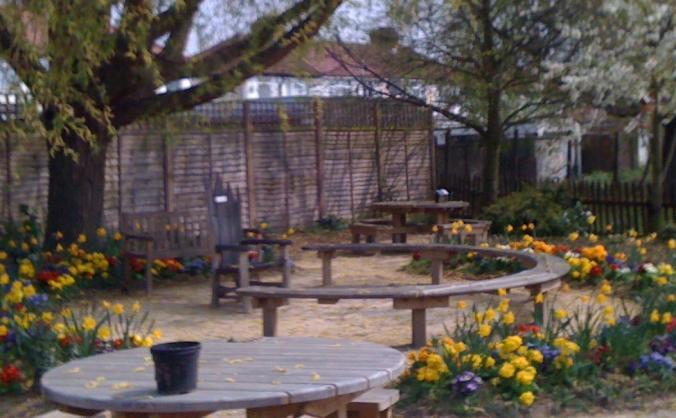 Stag lane school garden restoration