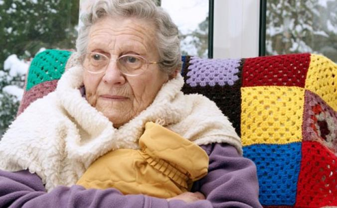 Spread some warmth to older people in poverty