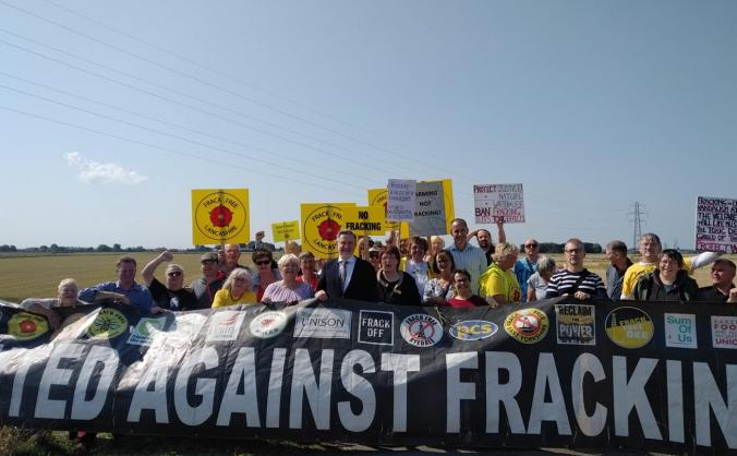 Don't allow fracking on Altcar Moss!