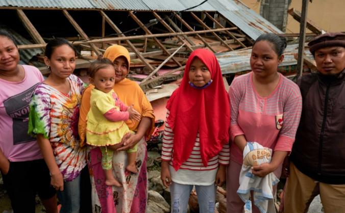 Getting clean water to Palu earthquake survivors