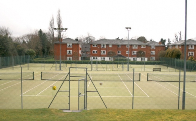 Solihull Tennis Club Court Resurfacing