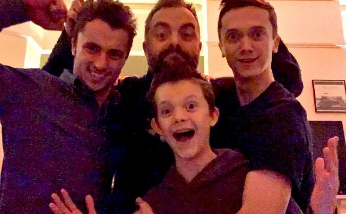 Fraser's boys.