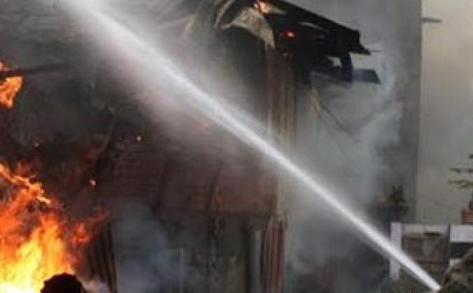 Rehousing Kashmiri family after fire.