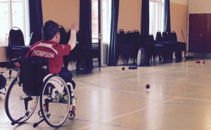 Help fund Harrys International Boccia quest