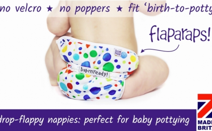 Flaparaps: Nappies for Nappy-Free Babies