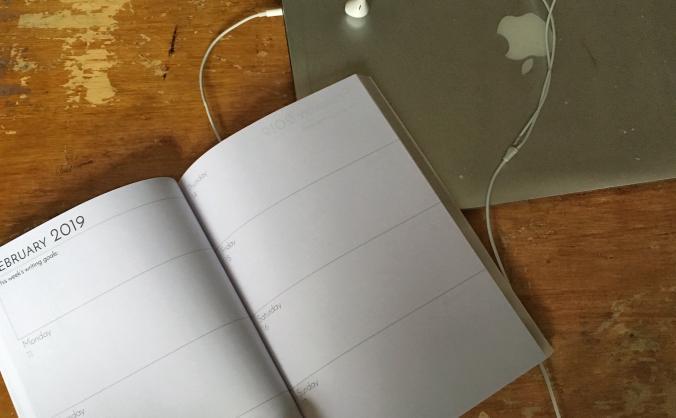 Writer's Diary & Planner 2019