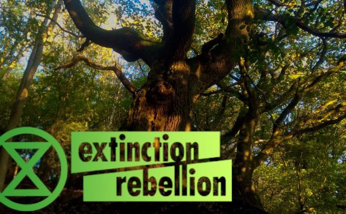 Trees Rise Up - Extinction Rebellion