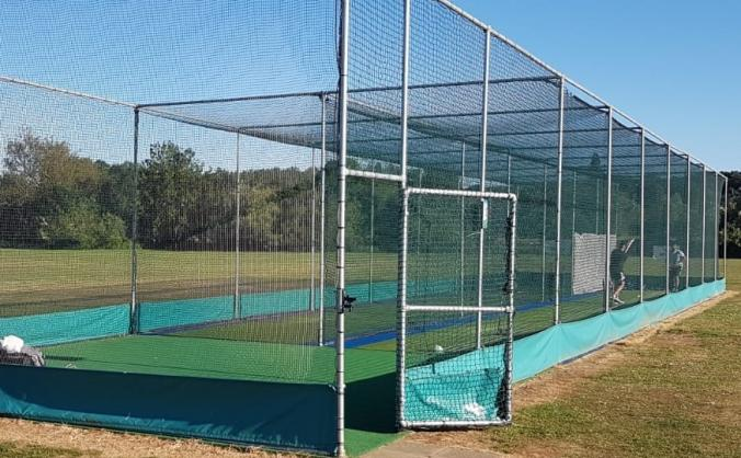 South Nutfield CC new nets